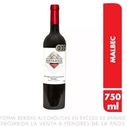 Vino Santa Julia Malbec X 750Ml