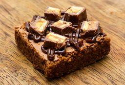 Brownie de Fudge con Snickers