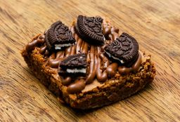 Brownie de Nutella con Oreo