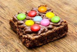 Brownie de Nutella con Lentejas