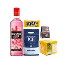 Combo Gin Beefeater Pink + Chocolates