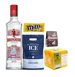Combo Gin Beefeater London Dry + Chocolates