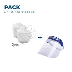 Promo 2 KN95 + Careta Facial