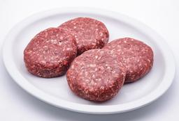 Carne Para Hamburguesa Angus Burgers Empacado al Vacio 4 U