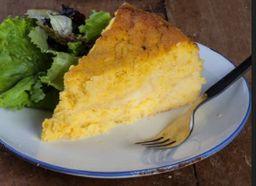 Pastel de choclo con queso chico