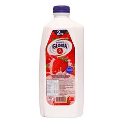 Yogurt Bebible Gloria Fresa 2 L