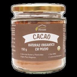 Polvo De Cacao Orgánico 150 Gr Green House
