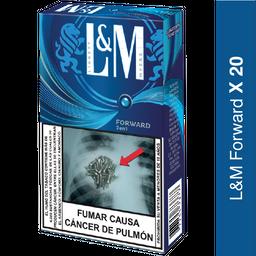 L&m Forward Blue Ks Box 20