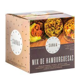Hamburguesa Caja Mixta 5Unidades Sanua
