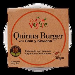 Hamburguesa De Quinua+ Chia + Kiwicha 4 Unidades