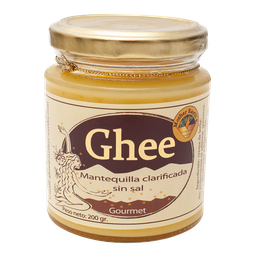 Mantequilla Clarificada Sin Sal Ghee 200 Gr Mother Earth'S