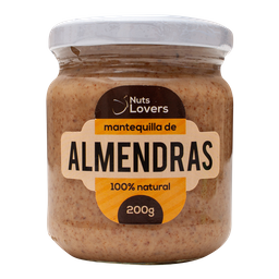 Mantequilla De Almendras 200 Gr Nuts Lovers