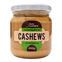 Mantequilla De Cashews 200 Gr Nuts Lovers