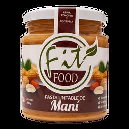 Mantequilla De Mani 200 Gr Fitfood