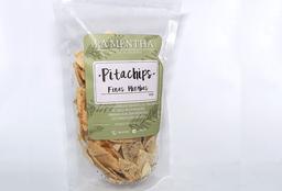 Pita Chips De Ajo