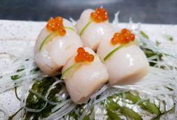 Sashimi de Conchas de Abanico