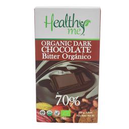 Healthy Me Barra de Chocolate Bitter 70%