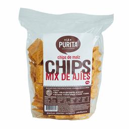 La Purita Chips de Maiz Con Mix de Ajies
