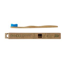 Cepillo Dental Pandú de Bamboo Cerdas Azules