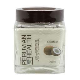 Crema corporal de aceite de coco y argan