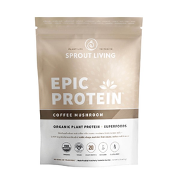Sprout Living Epic Protein Coffee Mushroom