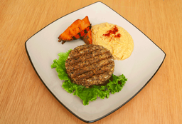 Hamburguesa Vegana con Hummus