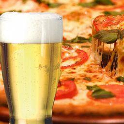 Combo Pizza Grande y Cervezas
