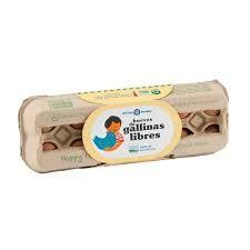 Huevos de Gallinas Libres en jaba (certificados)