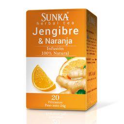 Sunka Jengibre Y Naranja En Filtrante