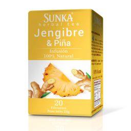 Sunka Jengibre Y Piña En Filtrantes