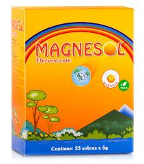 Magnesol efervescente naranja caja x 5gr