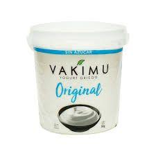 Vakimu Yogurt Griego Sabor Original En Balde