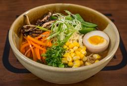 Miso Ramen Vegetariano