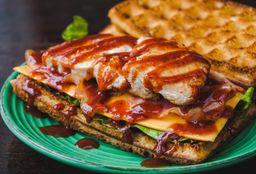 Waffle Pollo BBQ