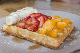 Waffles Frutas Frescas