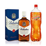Whisky Ballantine'S 750 Ml+Guaraná 2 Lt+Hielo 1.5 Kg