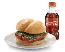 Choripan + Coca-Cola 300 Ml