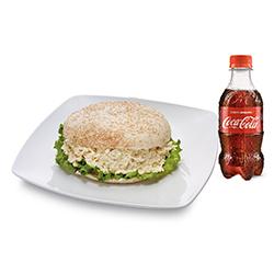 Pita De Pollo + Coca-Cola 300 Ml