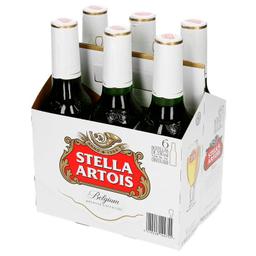 Stella Artois Six Pack Botella 330 Ml