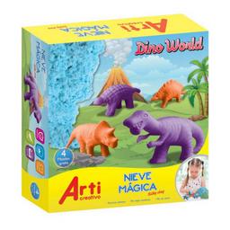 Nieve Magica Dino World Arti Creativo