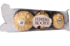 Ferrero Rocher X3 Unidades 37.5 Gr
