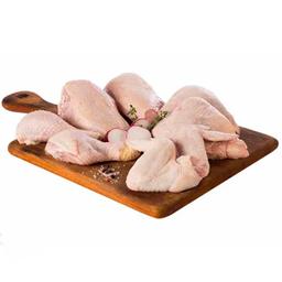 Pollo fresco trozado x8 sin menudencia
