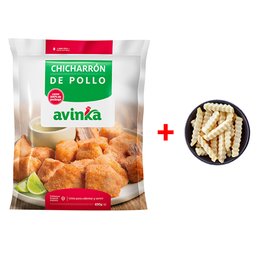 Combo - Chicharrón de pollo + papas