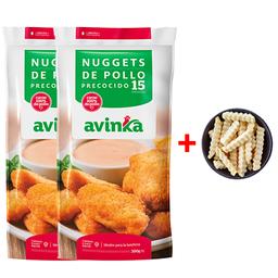 Combo - 2 Nuggets Premium + papas