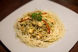Combo espagueti aglio e olio