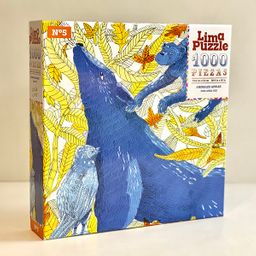 Lima Puzzle Rompecabezas Animales Azules