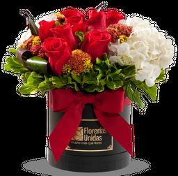 08 Rosas y Hortensias