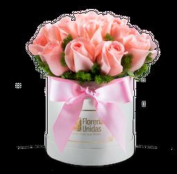 16 Rosas Rosadas