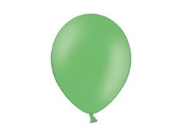 03 Globos Látex  Verde Pastel 30Cm -Sin Inflar