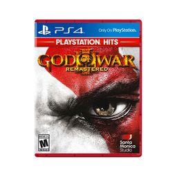 Ps4 Jgo God Of War 3 Remastered - Hits